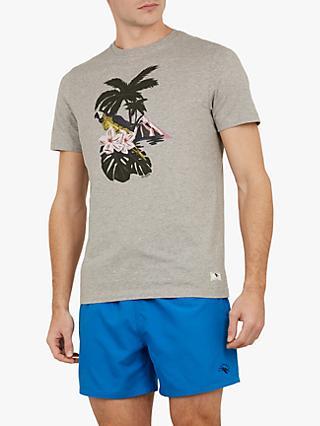 e950df5f49df39 Ted Baker Eyland Island Print T-Shirt