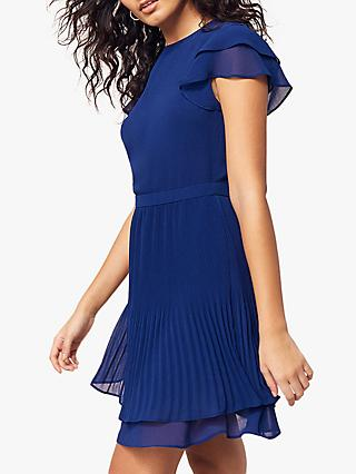Oasis Pleated Skater Dress 21bce2ac5