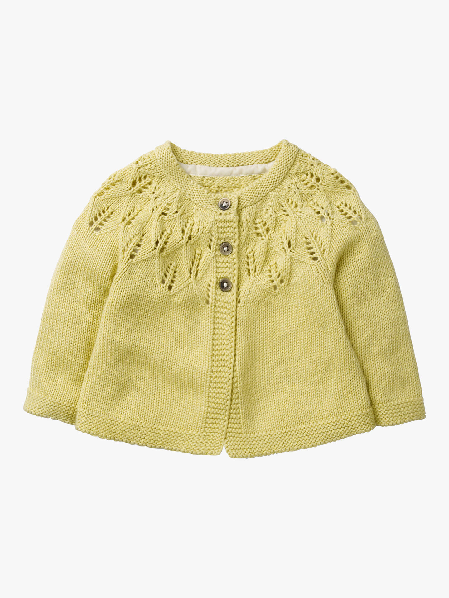 69cf5d33715f Mini Boden Baby Cosy Cut Out Detail Cardigan