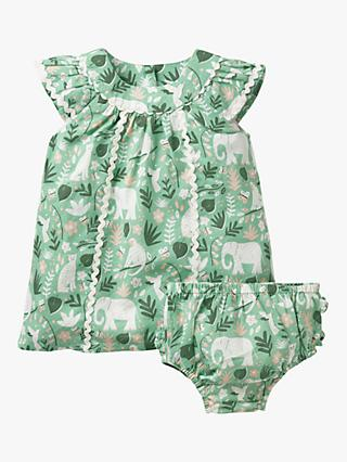 01835e339 Mini Boden Baby Tropical Print Dress and Knickers Set
