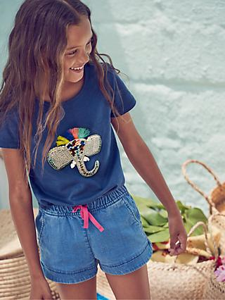 02f61b2f90b Mini Boden Girls  Crochet Elephant T-Shirt