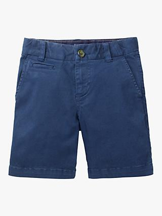 Mini Boden Boys' Chino Shorts, Blue