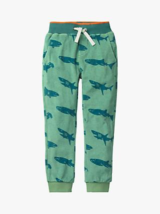 Mini Boden Boys' Towelling Joggers, Green