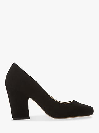 Dune Alejandro Square Toe Court Shoes