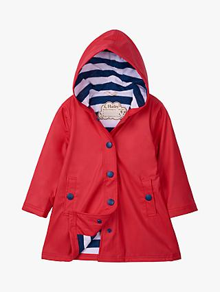Hatley Girls' Splash Jacket, Red