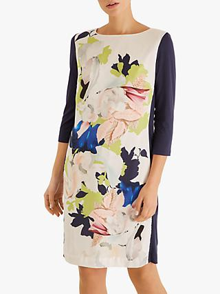 Fenn Wright Manson Maple Floral Dress, Ivory/Multi