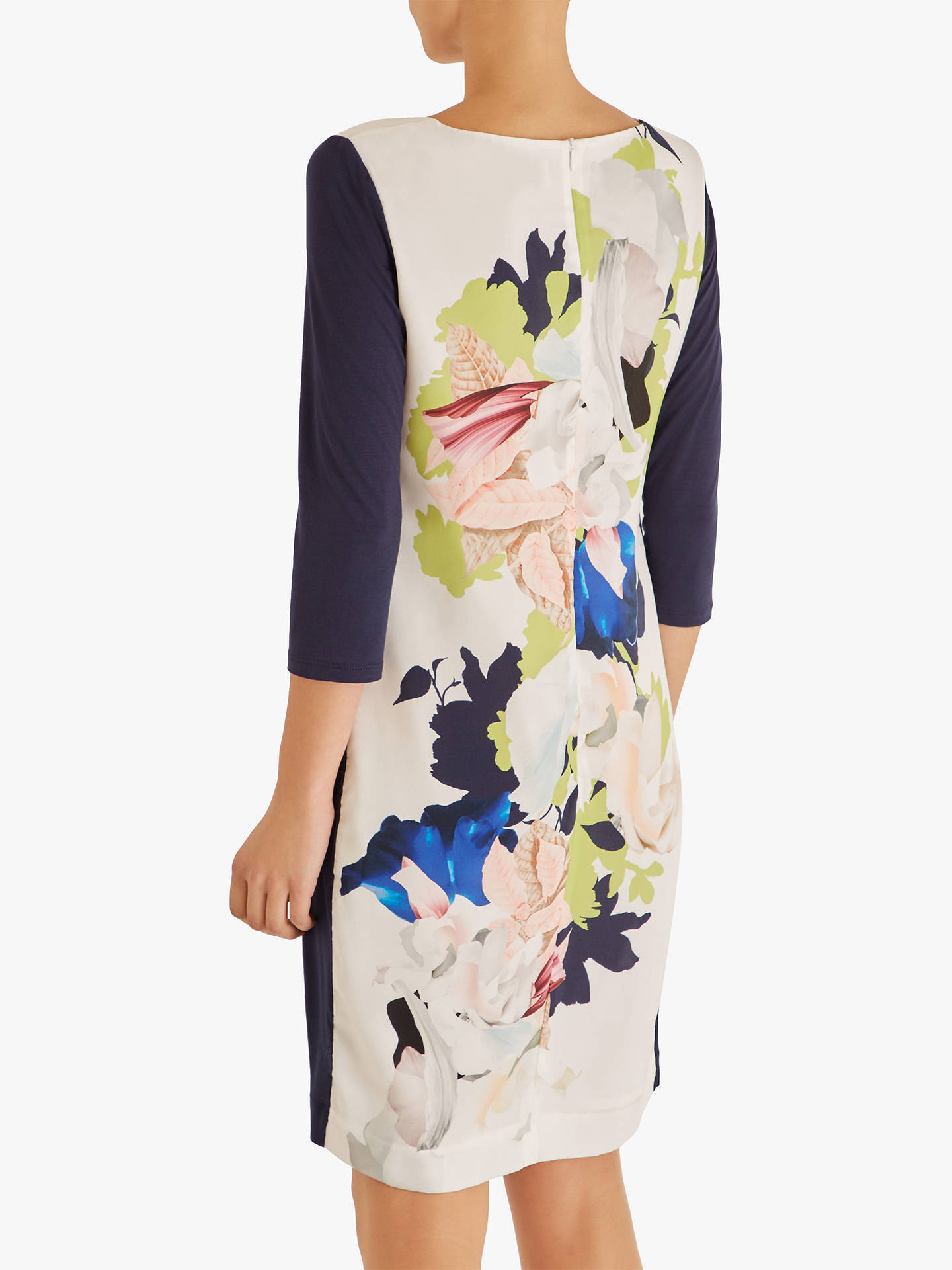 Buy Fenn Wright Manson Maple Floral Dress, Ivory/Multi, 12 Online at johnlewis.com