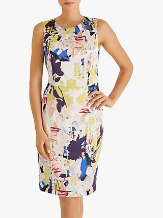 Fenn Wright Manson Kiku Silk Floral Dress, Multi
