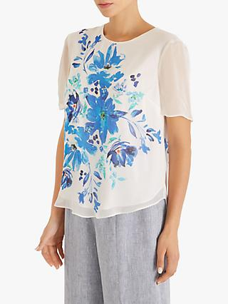 Fenn Wright Manson Sakura Floral Top, Blue