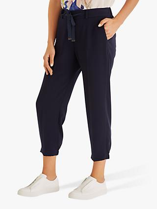 Fenn Wright Manson Tamarind Relaxed Trousers, Navy