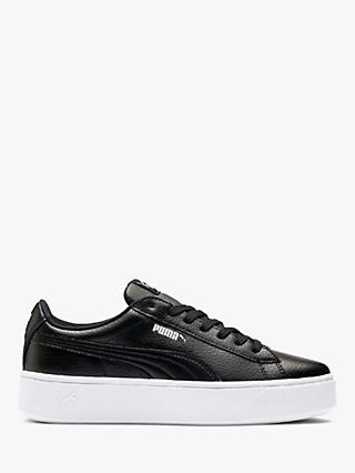 PUMA Vikky Stacked Women's Trainers, Black