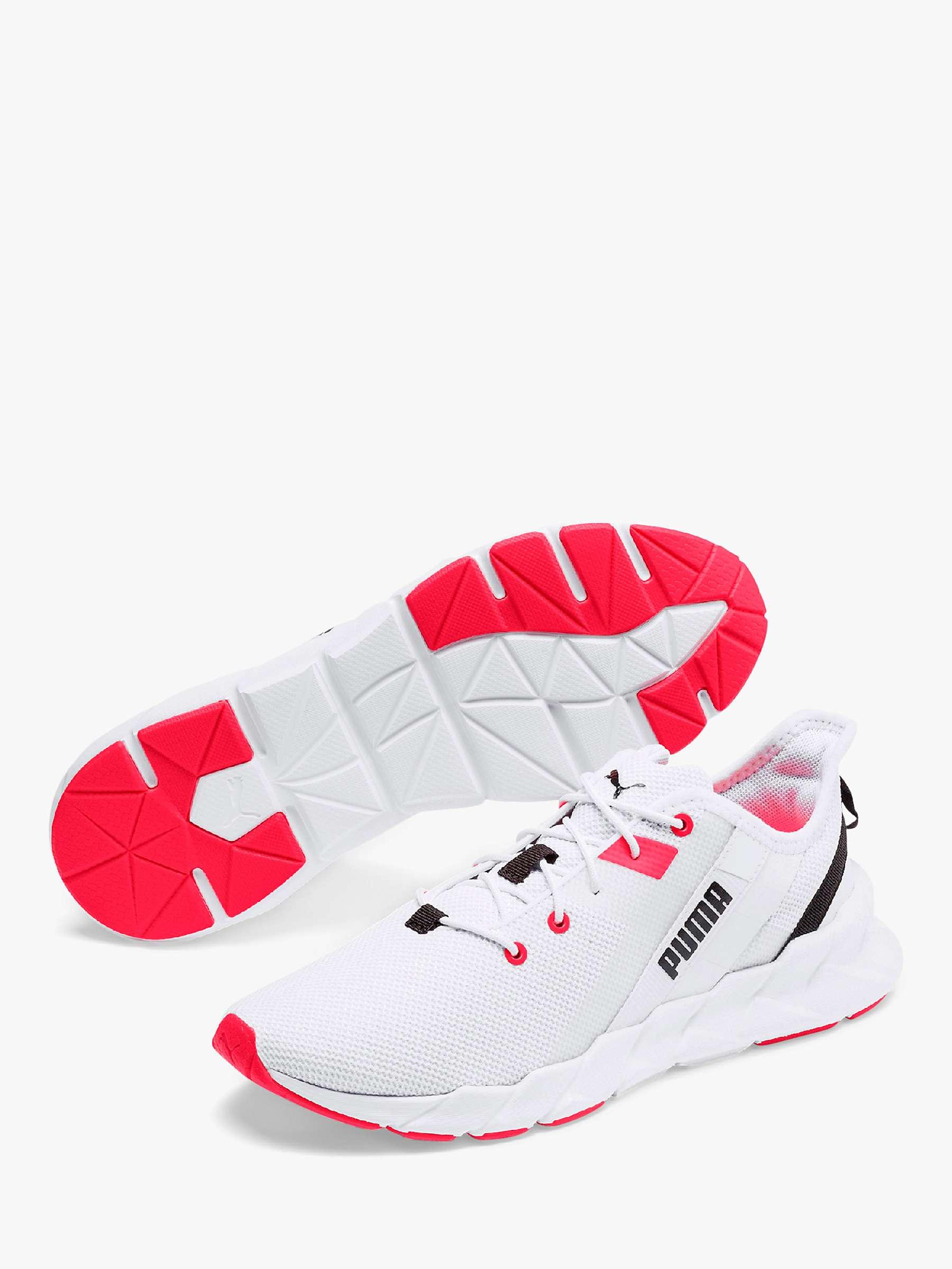PUMA Weave XT Women's Running Shoes, PUMA White at John