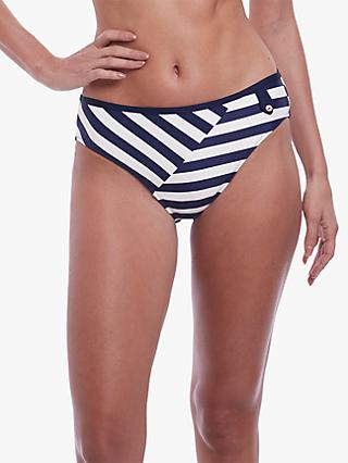 Fantasie Cote D'Azur Bikini Briefs, Ink/White