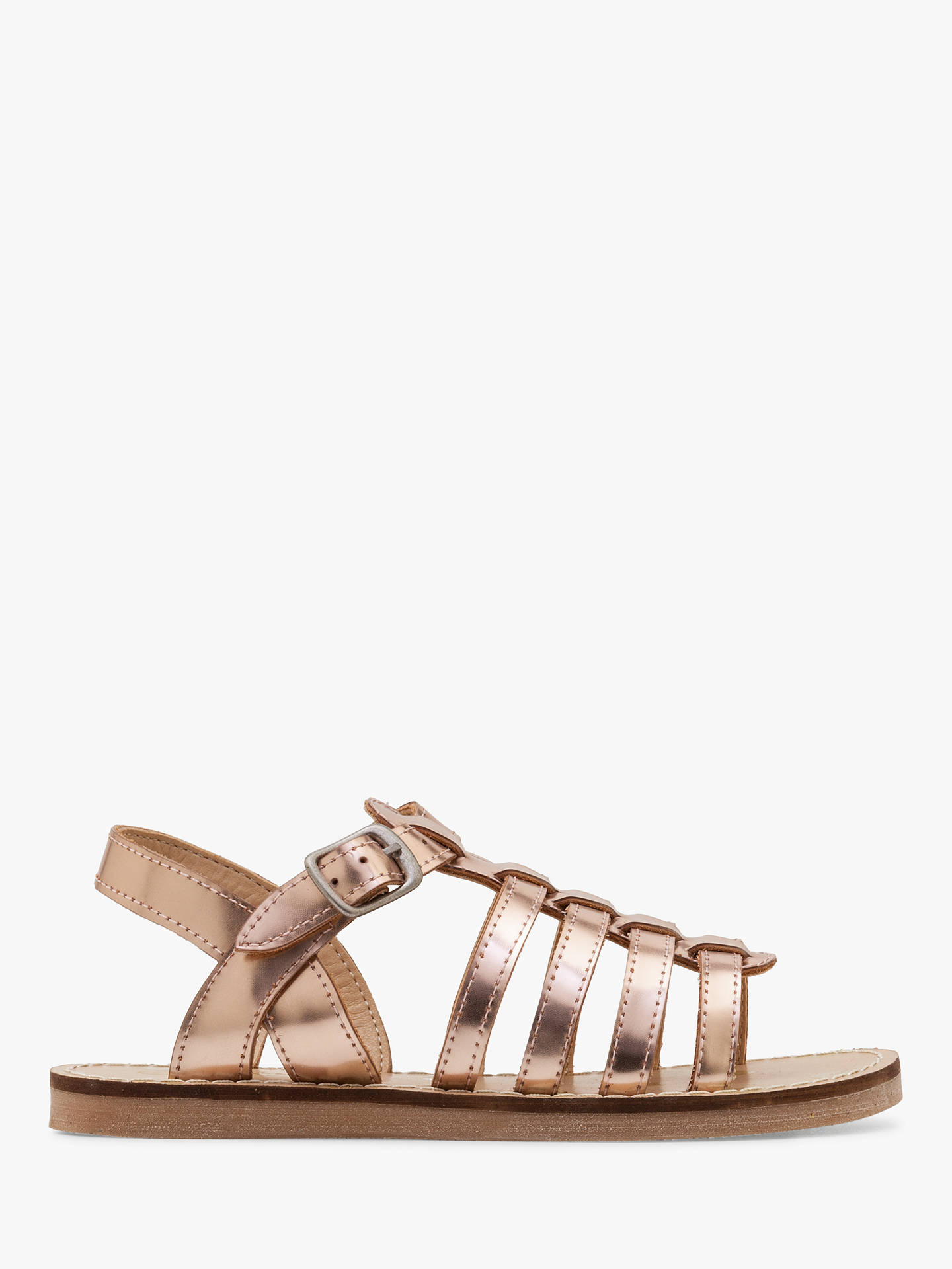 4ae2ad1b54b7 Mini Boden Children s Leather Gladiator Sandals at John Lewis   Partners