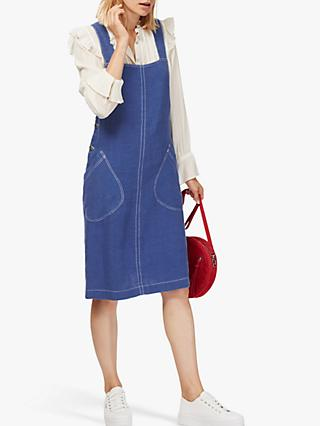 Brora Linen Pinafore Dress
