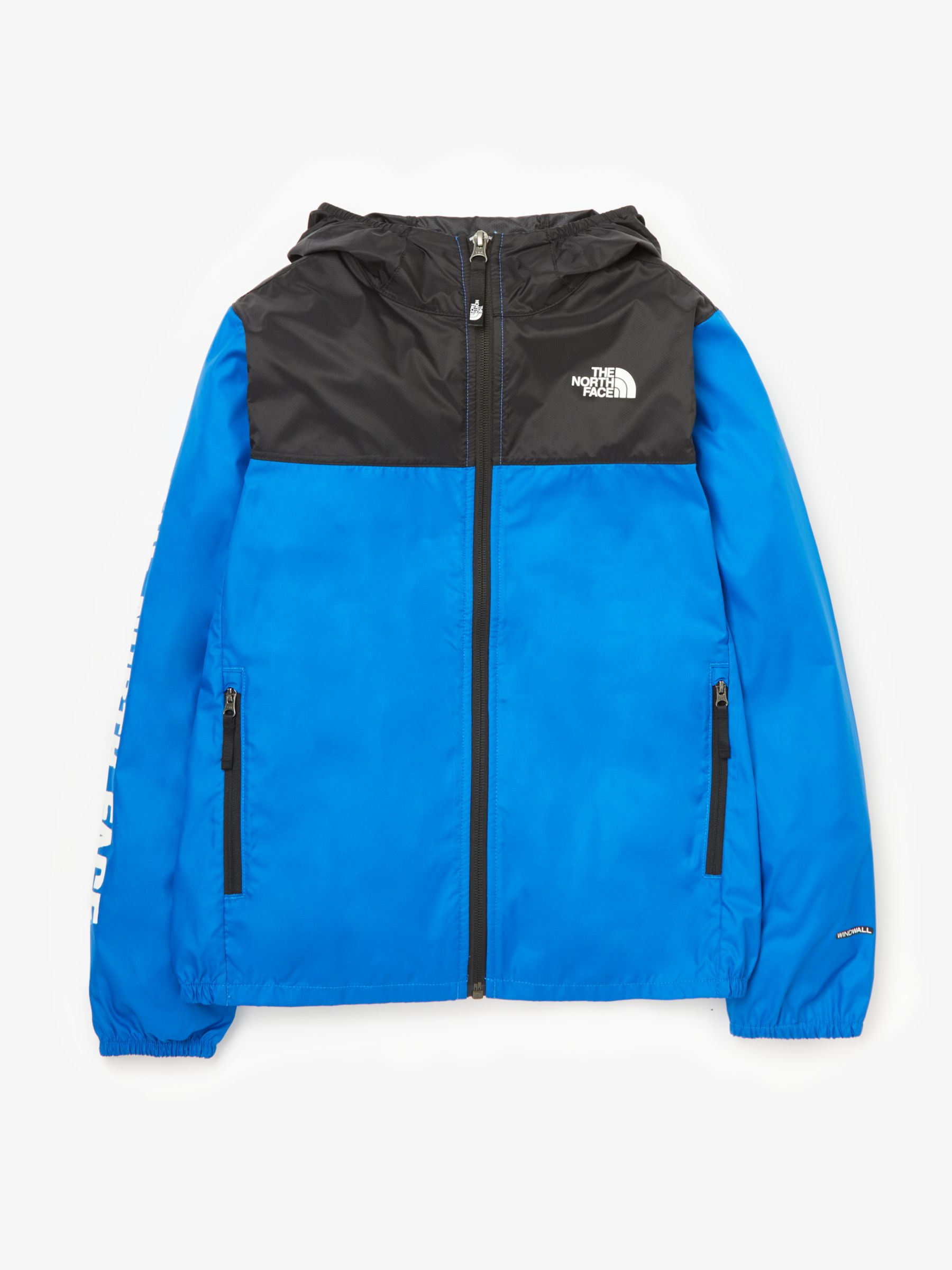 75b706c56 The North Face Boys' Reactor Wind Jacket, Blue at John Lewis & Partners