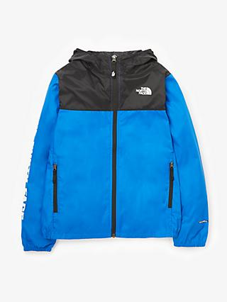 The North Face Boys' Reactor Wind Jacket, Blue
