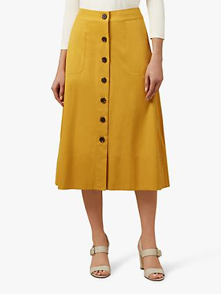 Hobbs Celina Skirt, Golden Yellow