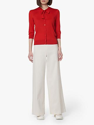 L.K.Bennett Arna Textured Trousers