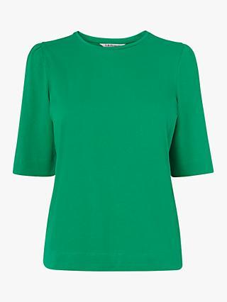 L.K.Bennett Saigon Ruched Sleeve T-Shirt c4ba67575889