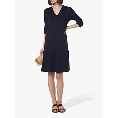 L.K.Bennett Ambeline Drop Waist Dress, Navy