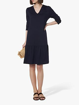L.K.Bennett Ambeline Drop Waist Dress, Navy