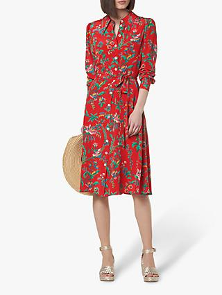dea834db776d93 L.K.Bennett Runa Silk Shirt Dress