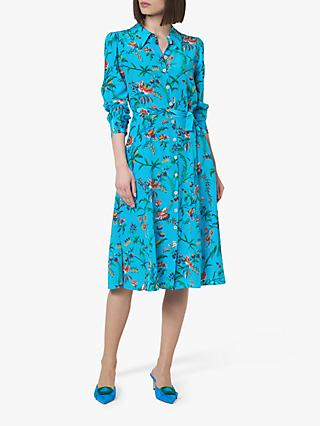 L.K.Bennett Runa Silk Shirt Dress