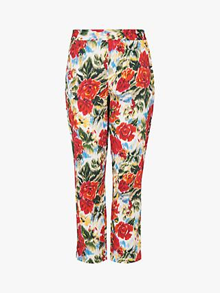 L.K.Bennett Issie Floral Trousers, Multi