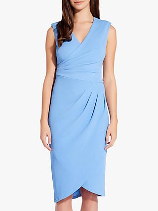 35617fea5f082 Adrianna Papell Rio Knit V-Neck Wrap Dress