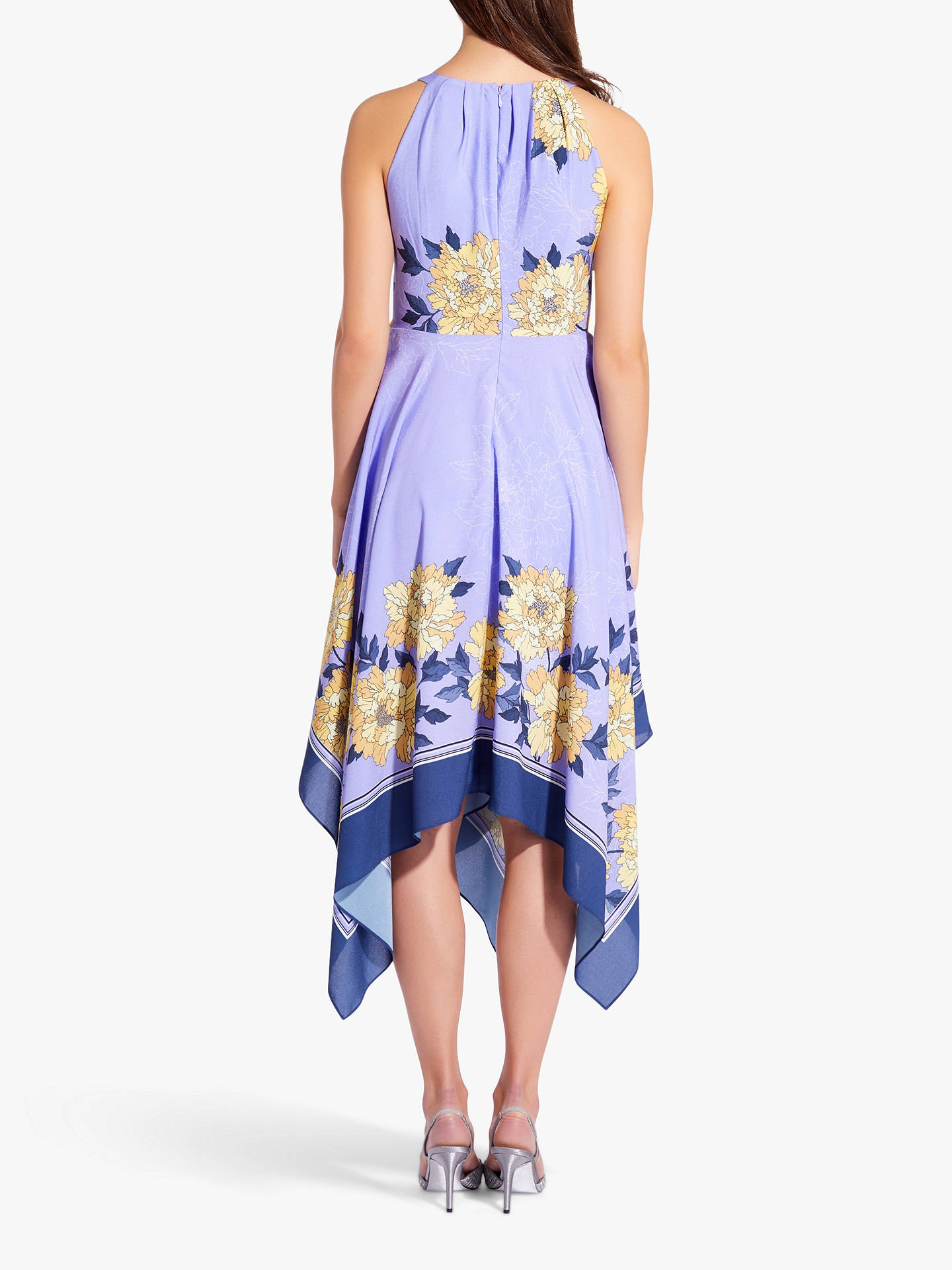 Buy Adrianna Papell Bliss Blooms Dress, Yellow/Multi, 14 Online at johnlewis.com