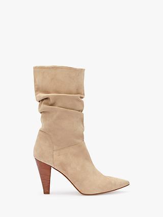 9579bddb06c Mint Velvet Harley Cone Heel Calf Boots