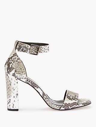 b6e7b589e34e Mint Velvet Lucy Ankle Strap Block Heel Sandals