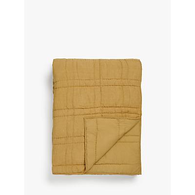 Croft Collection Linen Blend Bedspread