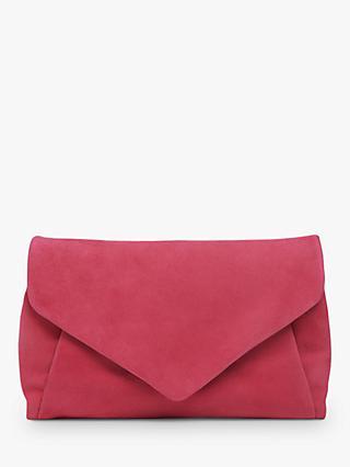 523eafac3d02 L.K.Bennett Lorna Suede Envelope Clutch Bag