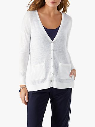 Pure Collection Linen Cardigan