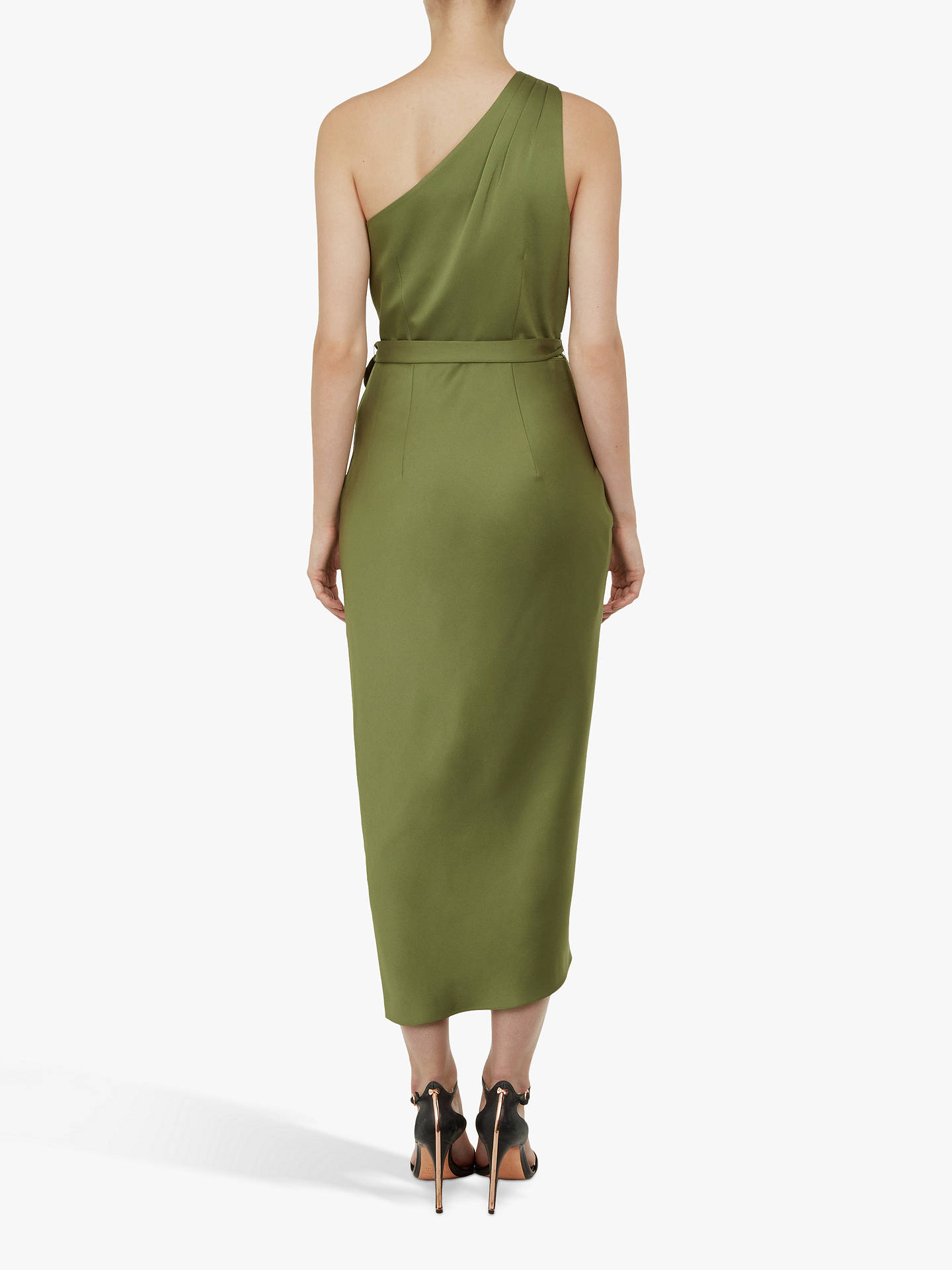 dd66305de11d ... Buy Ted Baker Gabie Tie Waist One Shoulder Dress