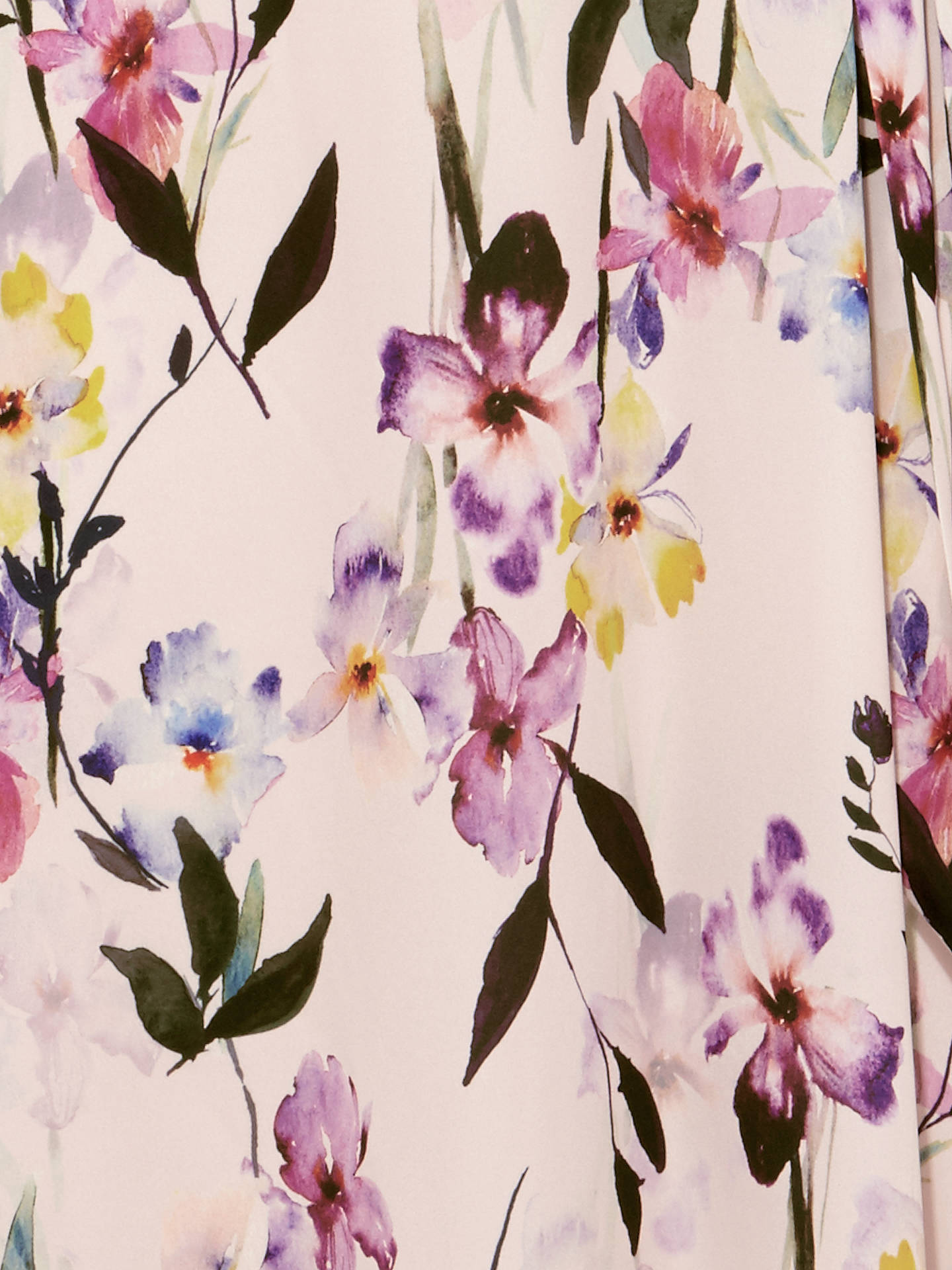 725e0d37c3b5a ... Buy Studio 8 Calie Floral Print Asymmetric Midi Dress, Pink/Multi, 14  Online