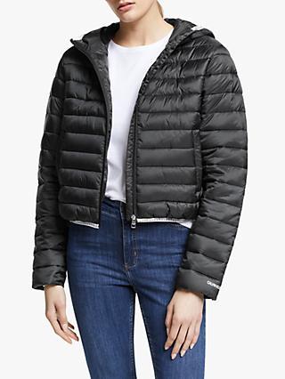 5777b0ae66b0 Calvin Klein Jeans Padded Jacket, CK Black