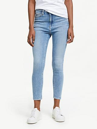 Calvin Klein High Rise Skinny Ankle Jeans, Iconic Everest
