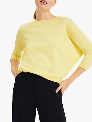 Phase Eight Shanelle Jumper, Lemon