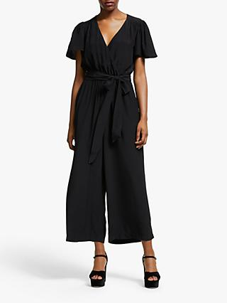 Somerset by Alice Temperley Tie Waist Jumpsuit, Black