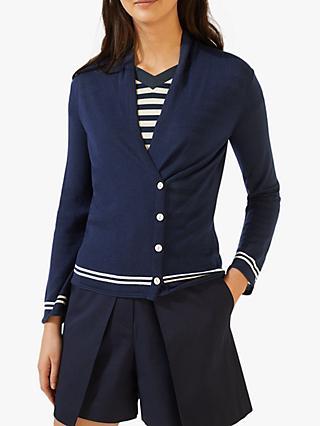 9d599cfb3bb84e Jigsaw Side Button Merino Wool Cardigan