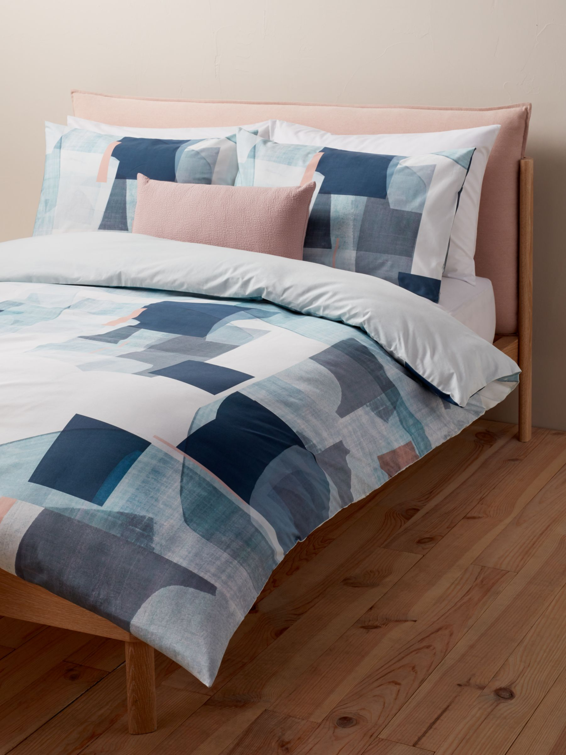 Design Project By John Lewis No 198 Bedding Blue Multi At John Lewis Partners