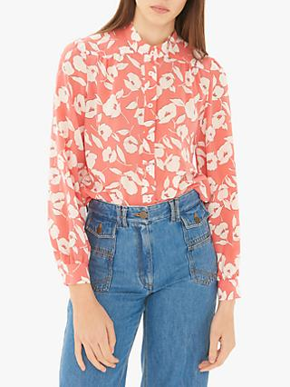 a4954990117905 Gerard Darel Elysa Silk Floral Shirt