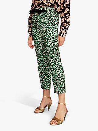 Gerard Darel Nika Trousers, Green/Multi