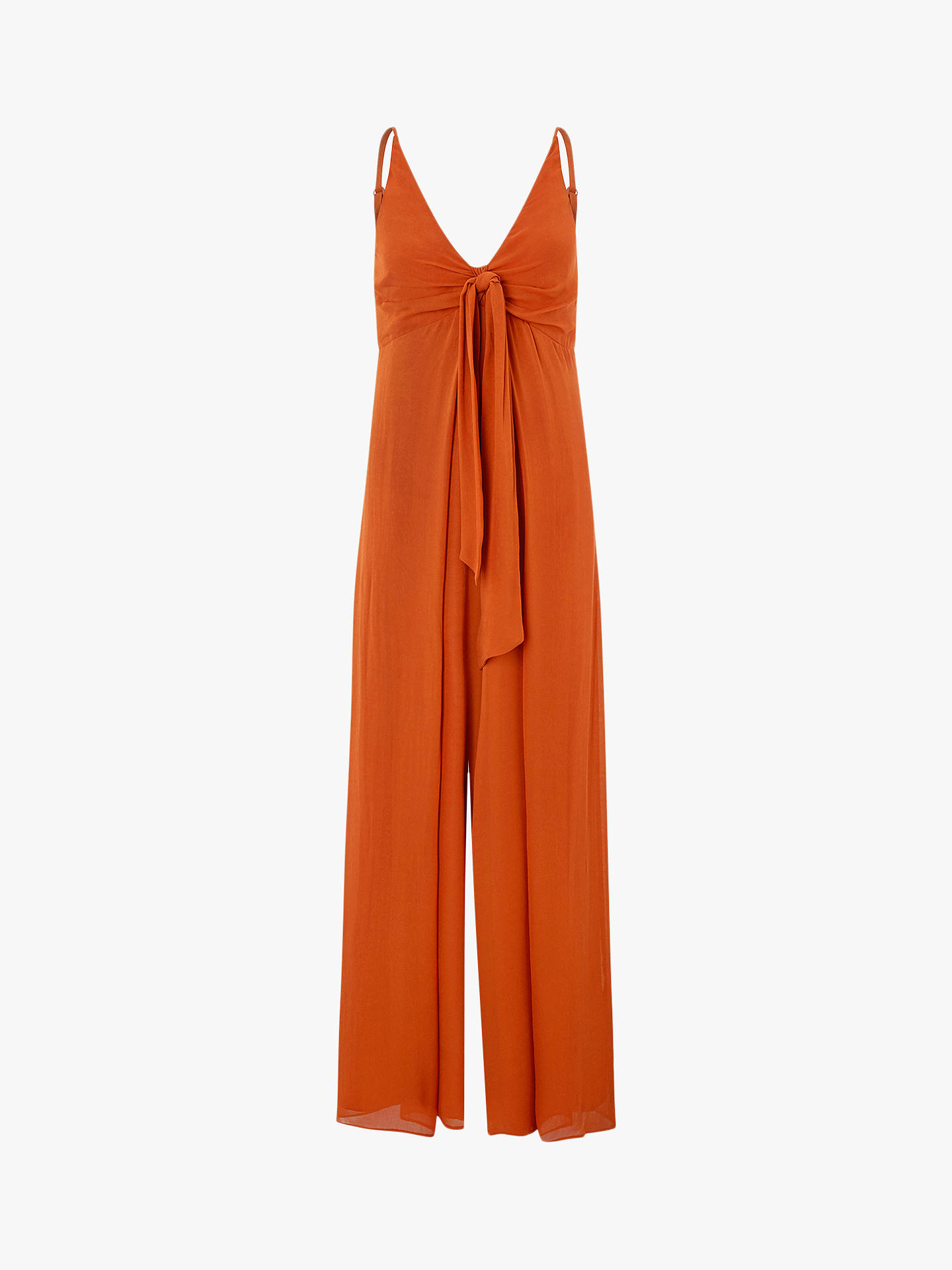 4edac4385664 Buy Monsoon Joan Wide Leg Tie Front Jumpsuit