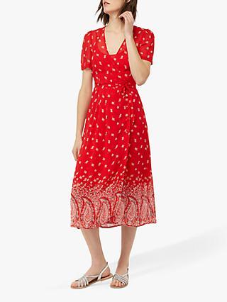 68ebab8ae06fb2 Monsoon Odette Paisley Print Midi Dress