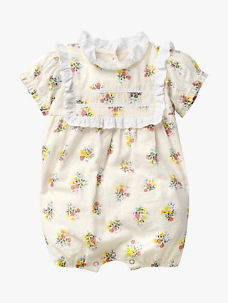 b5115e8c50 Mini Boden Baby Nostalgic Broderie Floral Romper