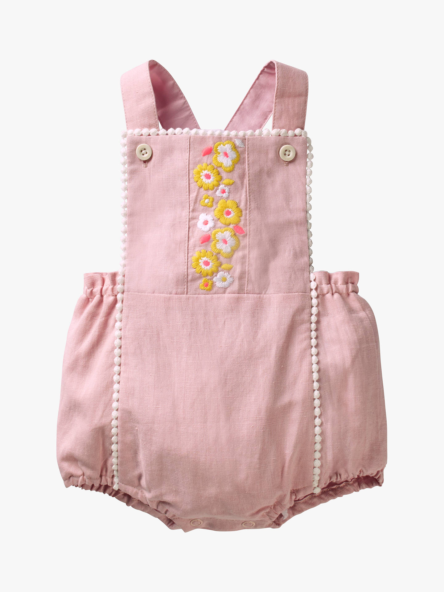 0d664d441e Buy Mini Boden Baby Floral Embroidered Romper